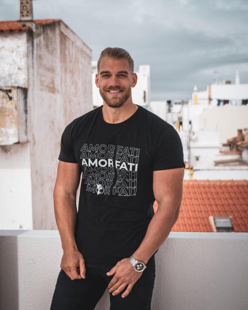 mischa amor fati shirt black