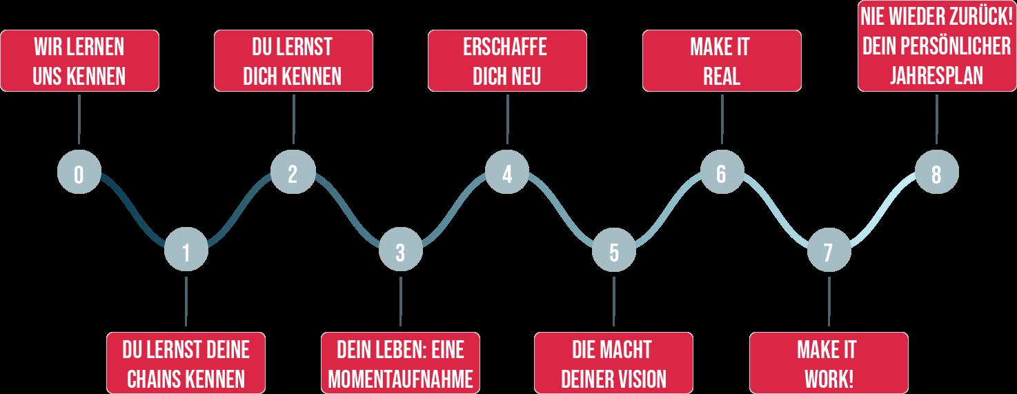 ChainlessLife Roadmap 2021